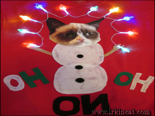 grumpy cat ugly christmas sweater reviews tips