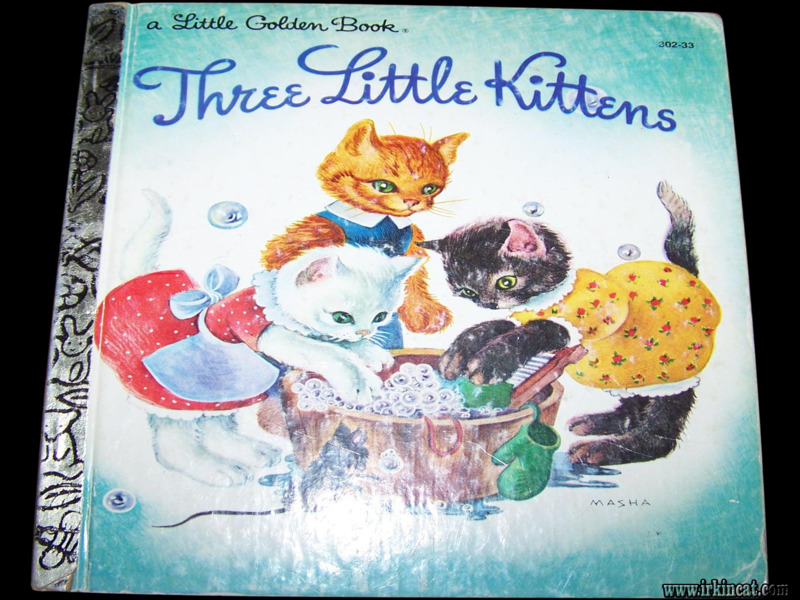 3-little-kittens-book Choosing Good Little Kittens Book